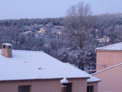 Neige à Draguignan