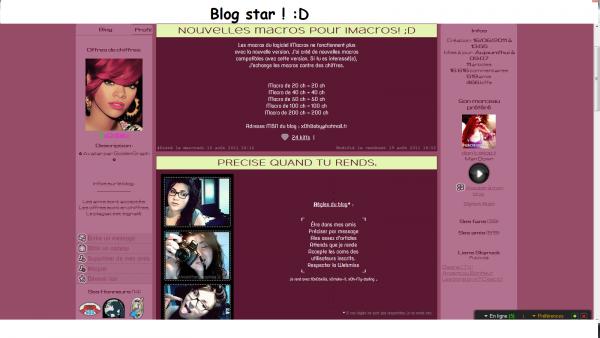 Blog star  (: