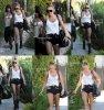 Bonjour à tous ! Hier (28 Juin), Miley s'est rendue dans un studio d'enregistrement à Burbank, certainement pour peaufiner son nouvel album très attendu. Elle était accompagnée de son amie/danseuse Jen Novak.