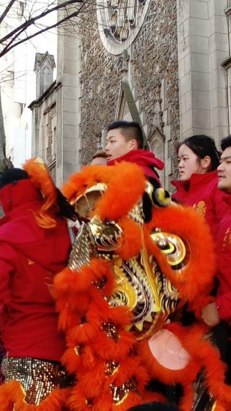 Défilé Nouvel An Chinois ,Paris 2018.
