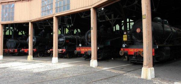 Locomotives à Vapeur.
