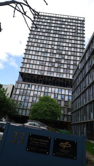 Paris Méconnu.   Le 1er gratte ciel d'habitation, de Paris.