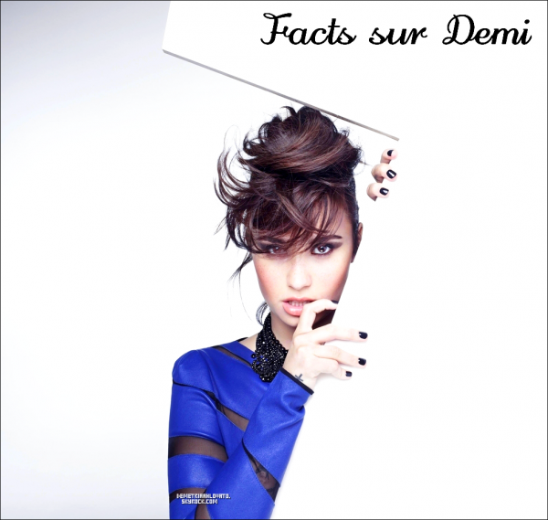 --------------------------------- 》Demi Facts.《 ---------------------------------
