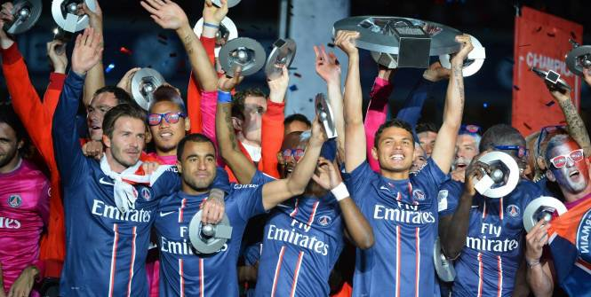 Paris champion de France 2013
