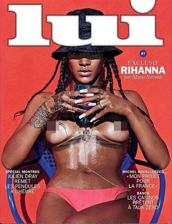 """Rihanna faisant la couverture de """"LUI"""""""