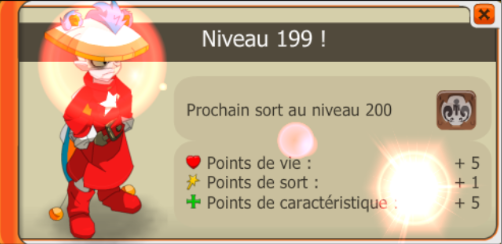 Up 199 du Xelors, grand moment !