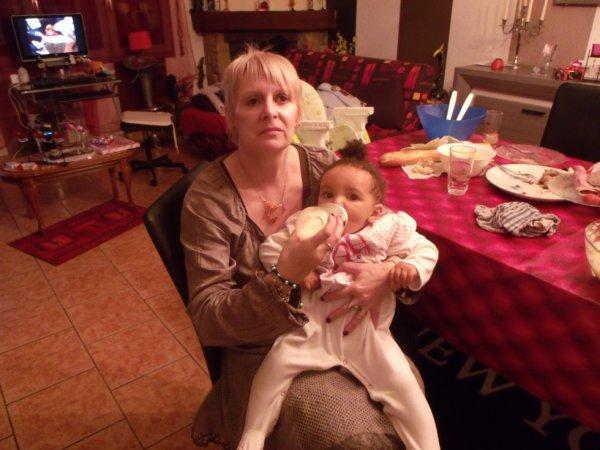 Ornella, et moi!!!