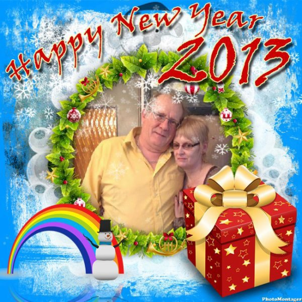 mon mari, et moi, merci, petite soeur, je t'adore!!!!
