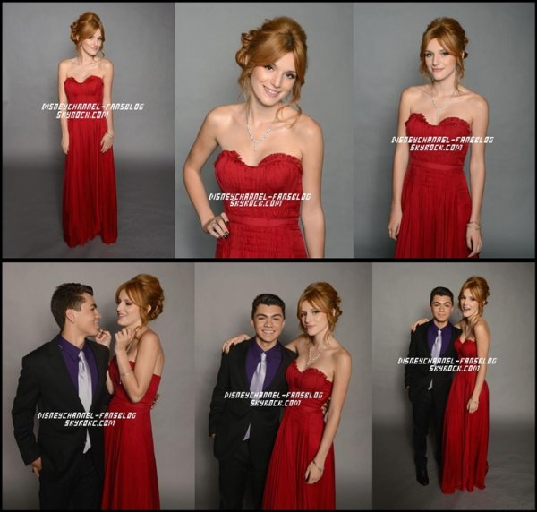 Bella aux Alma Award 2012 + Bella et Adam , pour un photoshoot le 17 septembre au Alma Award !