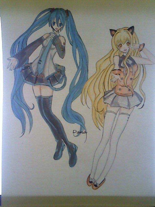 Miku Hatsune et Seeu~♦