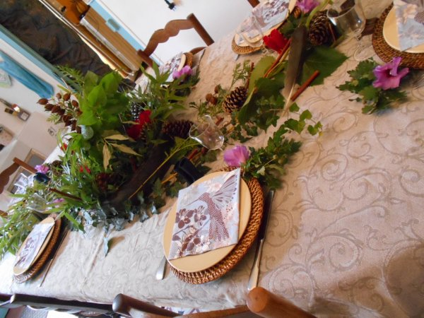 Décoration de Table Nature