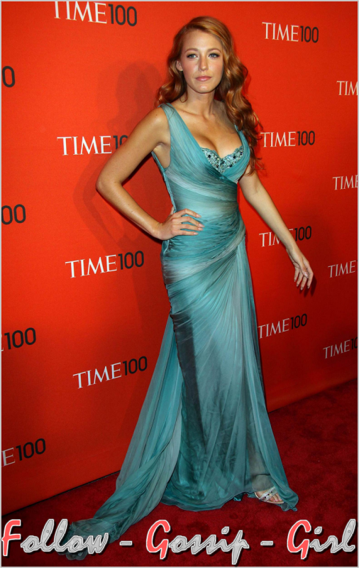 April 26th – TIME 100 Gala : TIME'S 100 Most Influential People In The World Vêtue de cette manière, Blake pourrait éblouir même en pleine nuit tellement elle est SUBLIME ...