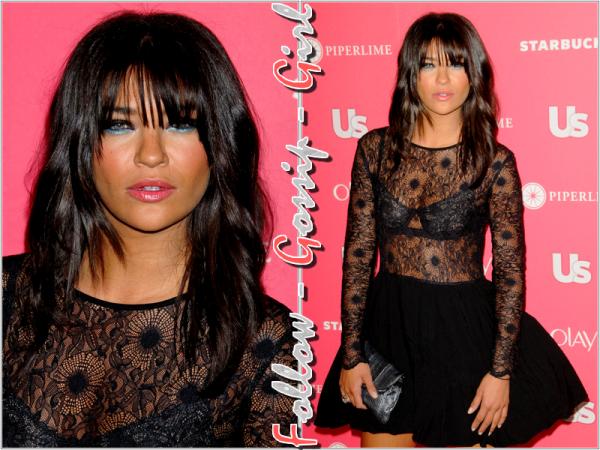 April 26th – Us Weekly Hot Hollywood Party Si la tenue et le make - up de Jessica sont d'un goût douteux, sa coiffure est TOP !