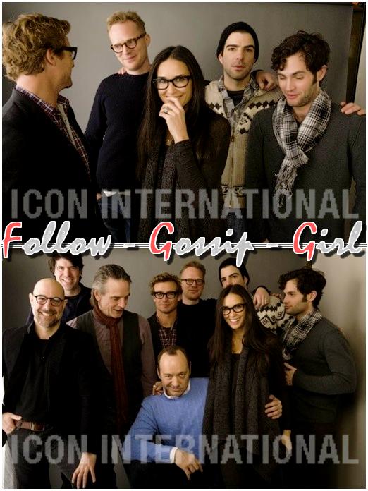 July 2011 –  InStyle L'idée de rassembler plusieurs acteurs pour un seul et même photoshoot est excellente : c'est un TOP !