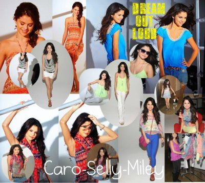 Nouveau photoshoot de Selly pour sa marque de vêtements : Dream Out Loud!