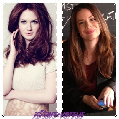 Bonnie Wright VS Holly Marie Combs