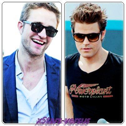 Robert Pattinson  VS  Paul Wesley