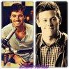 Ian Harding  VS  Cory Monteith