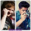 Ed Sheeran  VS  Bruno Mars