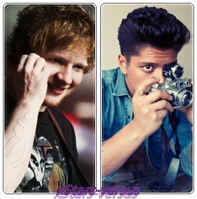 Ed Sheeran  VS  Bruno Mars