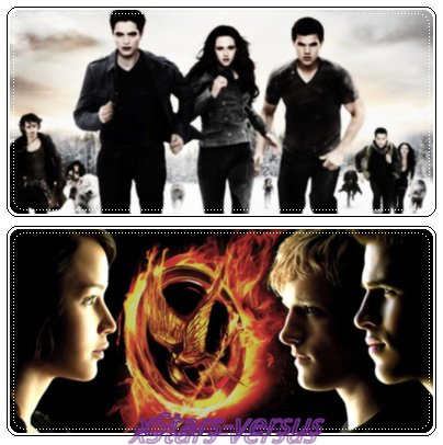 Twilight  VS  Hunger Games