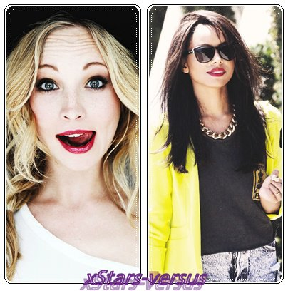Candice Accola VS Katerina Graham