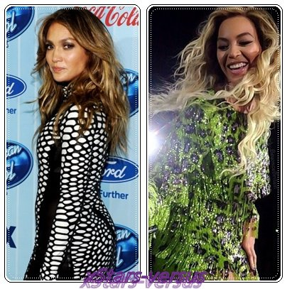 Jennifer Lopez  VS  Beyoncé