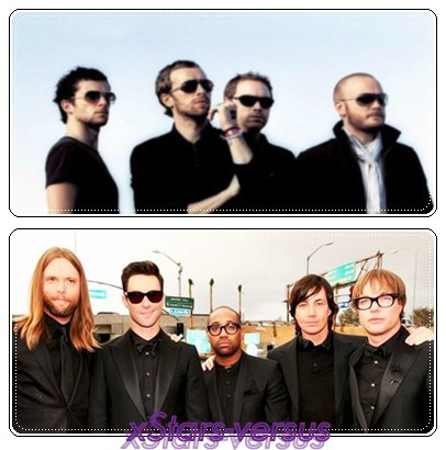 Coldplay  VS  Maroon 5