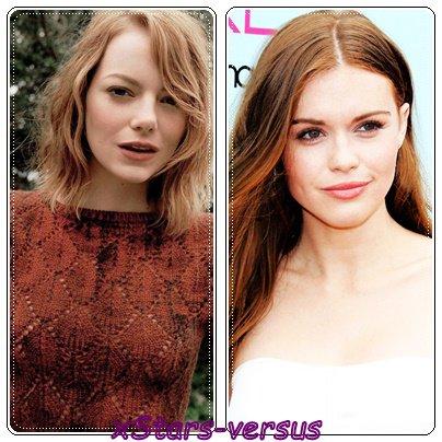 Emma Stone  VS  Holland Roden