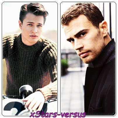 Ansel Elgort  VS  Theo James