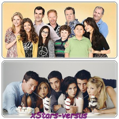 Modern Family  VS  Friends