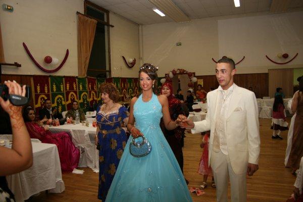 un tres beau mariage machallah