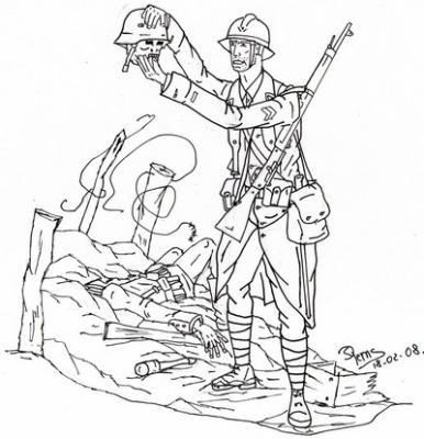 Blog de rems 02 page 2 passion dessin - Dessin de soldat ...