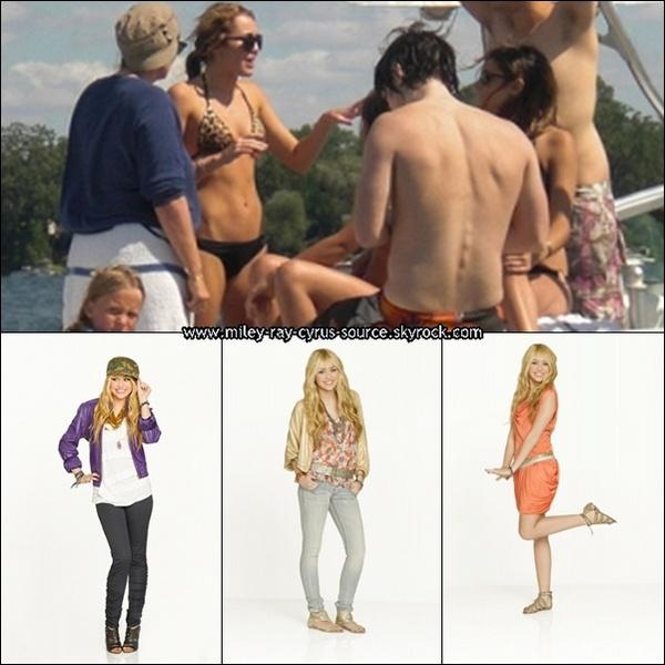 Une nouvelle photo de Miley vient d'apparaître, pendant une pose sur le trournage de LOL.+ 3 nouvelles photos du shoot de Hannah Montana Forever. La suite ICI