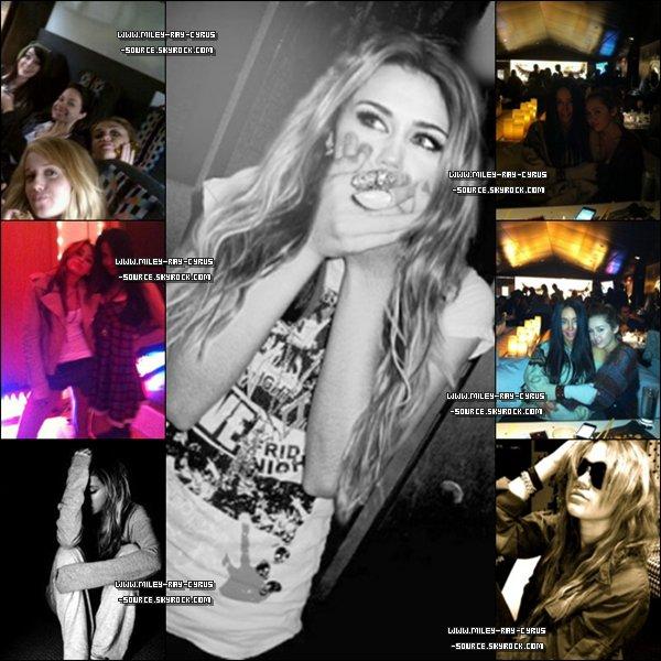 03 / 01 / 2011 : Miley sur le tournage de So Undercover.