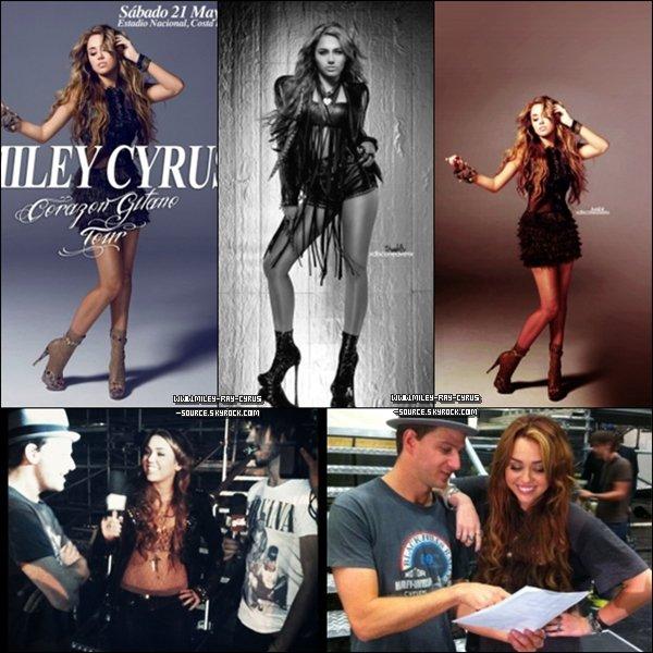 """13/04/2011 : Miley dans l'émission """"Oprah Winfrey Show"""""""