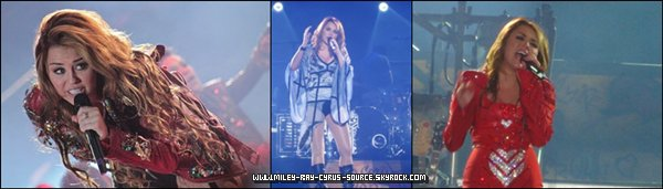03/05/2011 : Miley faisant du shopping au Chili.