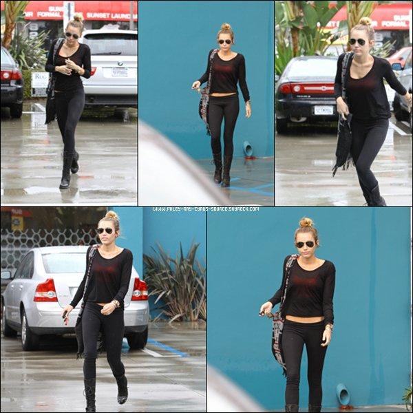 14.04.2012 : Miley & Liam faisant des courses.