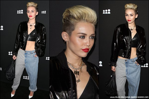 "15.06.2013 : Miley a présenté ""Act von Macklemore und Ryan Lewis"" au B96 Pepsi Summer Bash, à Chicago."