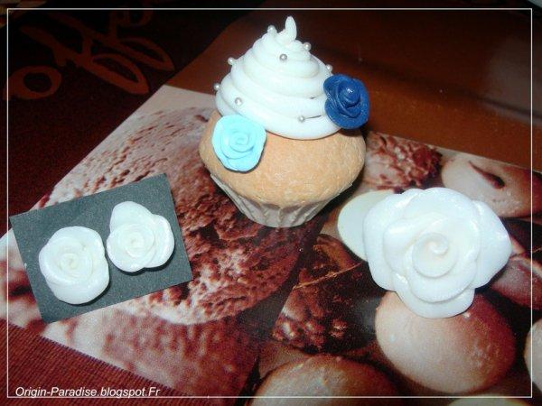 Swap cupcakes fleuris