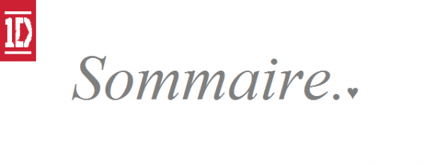 Sommaire :