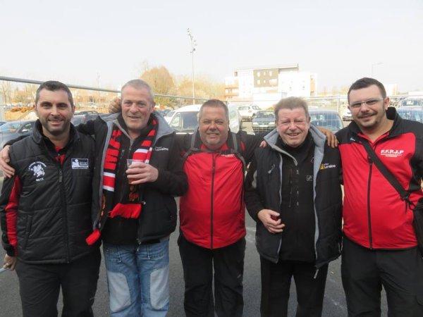 L'équipe de Metz en Finale de la Coupe de France des Clubs à Chemillé-en-Anjou, 18 & 19 Mars