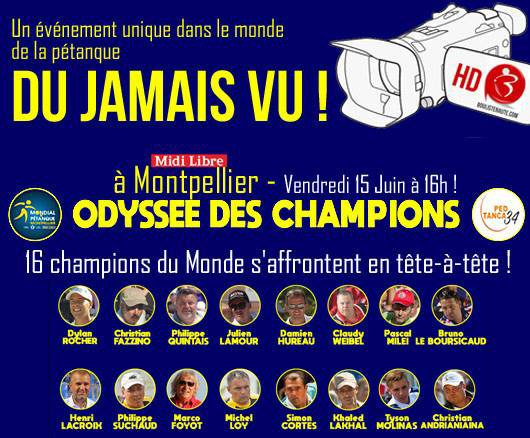 CLAUDY ODYSEE DES CHAMPIONS 2018