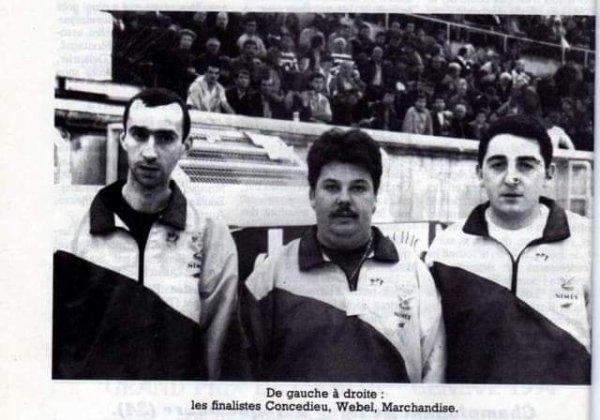 Finale Masters à Nîmes 1992
