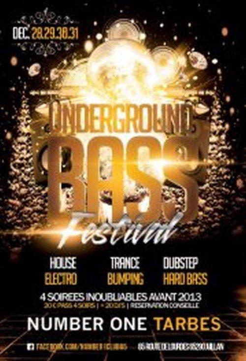 UNDERGROUND BASS FESTIVAL 2012 (4 soirs/4styles/35h de son)