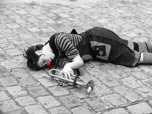† † † † † † † † Clown Triste † † † † † † † †