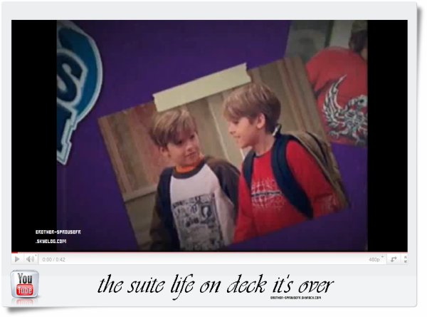 The Suite Life On Deck c'est terminer !