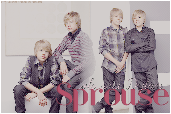 Your Daily source about the beautiful Sprouse Bros ♥