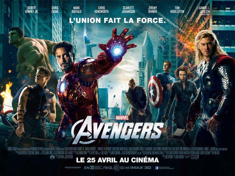 Avengers Au cinéma le 25 avril !