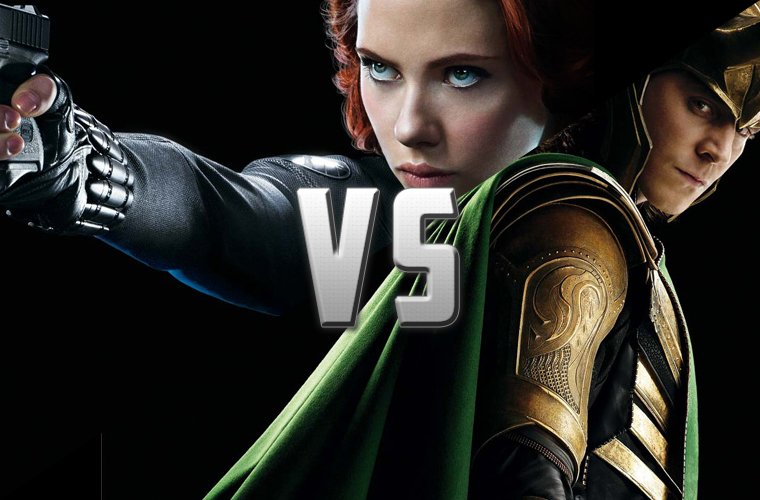 Battle : Black Widow VS Loki